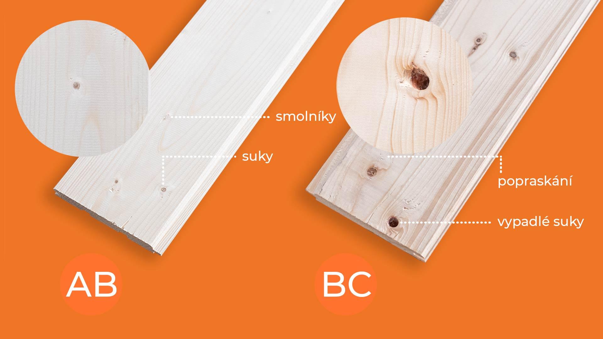 rozdíl mezi kvalitou ab a bc palubky vencl